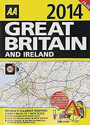 Great Britain and Ireland 2014, AA, Used; Good Book