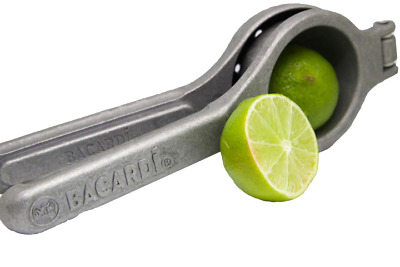 Bacardi Rum Lime Squeezer Press Cocktail Mojito Mexican Elbow Juicer Pub Bar New