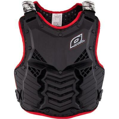 Oneal NEW Mx Holeshot Black Red Roost Body Armour Motocross Chest Protector