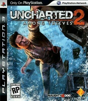 Uncharted 2: Among Thieves [PS3] New and Factory Sealed!!