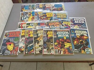 Iron Man Lot 19--23 issues from 258-323