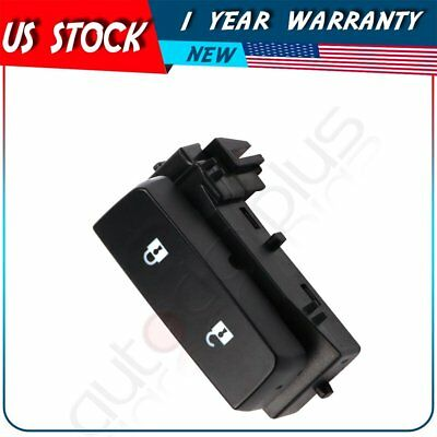 Master Door Lock Switch Front Driver Side for 2008-13 Chevy Silverado 1500