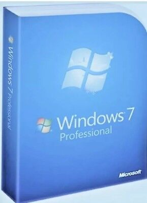 Windows 7 Professional Pro Key|64/32 Bit| Lifetime Genuine Key| Download Link