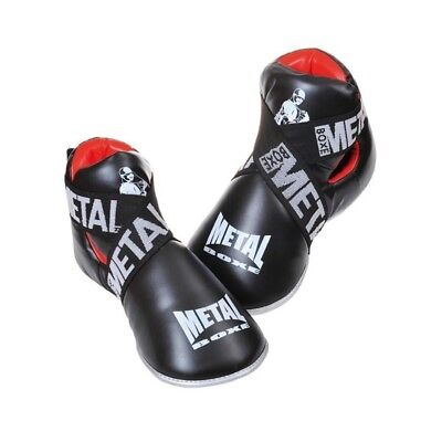 Protege pieds full contact ultra leger Metal Boxe