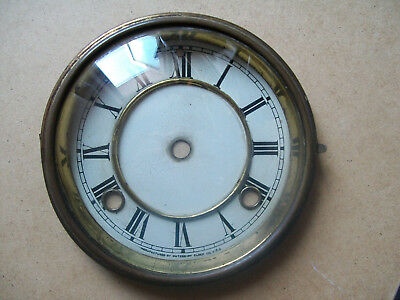 Antique Clock Bezel With Its Glass / Face, For Parts