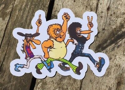 fabulous furry freak brothers Sticker. Large Size
