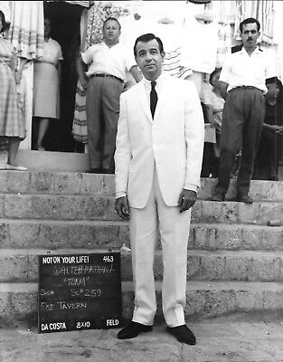 *ISLAND OF LOVE (1963) On-Set 8x10 Production Shot With Walter Matthau in Greece