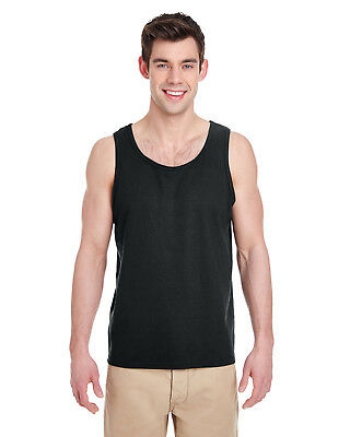 Gildan Mens Heavy Cotton Tank Top 12 Pack G520 All Sizes