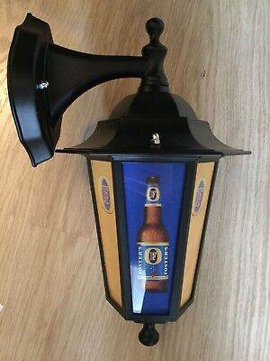 Fosters light Wall Lantern pub light LED bar Sign  fosters man cave light beer