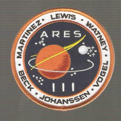 + THE MARTIAN DER MARSIANER ARES III Logo Matt Damon