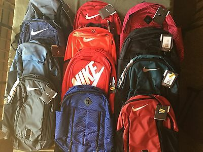 2aa736f44ee1a3 Nike Back Pack Book Bag New Tags Variety Colors Limited Quantity Red Black  Pink