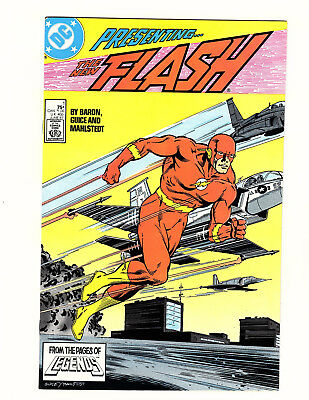The Flash #1 (1987, DC) VF Vol 2 Wally West Mike Baron Jackson Guice