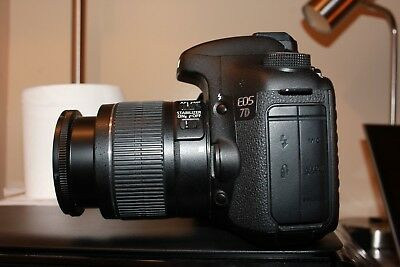 Canon EOS 7D Digital SLR Camera 18.0MP with EF-S 18-55mm Lens (2 LENSES)