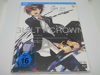 Guilty Crown 1, Episode 1-6, blue-ray Disc, NEU OVP