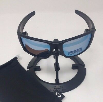 a5a571beed Oakley Fuel Cell Matte Black PRIZM Deep H2o Polarized Sunglasses OO9096-D8