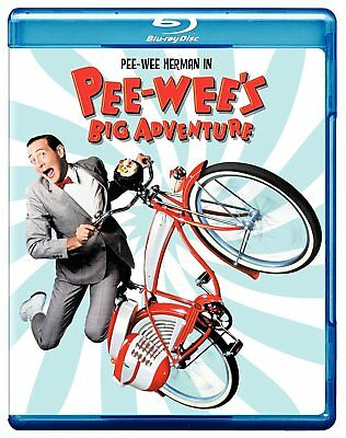 Pee-Wee's Big Adventure (1985) Blu-Ray BRAND NEW Free Shipping