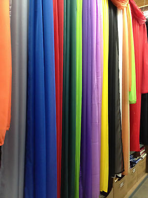 2PC Solid Sheer Panel Curtain Drape Wedding Quinceniera in Multiple Colors&Sizes