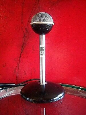 Vintage 1940's Brush BA-106 crystal microphone old antique midcentury # 2