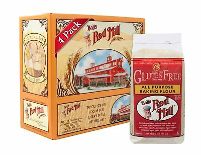 Bob's Red Mill Gluten Free All-Purpose Baking Flour, 22-ounce (Pack of 4)