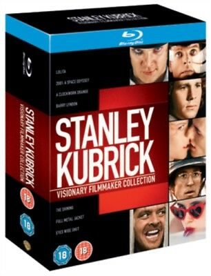 Stanley Kubrick 7 Film Collection Blu-ray A Clockwork Orange,2001,The Shining