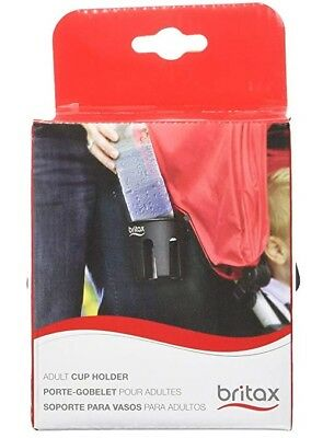 NEW Britax Adult Parent Cup Holder Stroller accessory add on