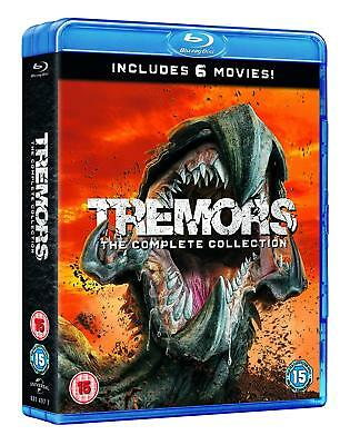 Tremors 1+2+3+4+5+6 Film Collection 1990-2018 Blu-ray Boxset New Region Free