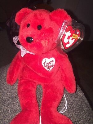 NMT* Ty Beanie Baby ~ SECRET the Bear ~ MINT with NEAR MINT TAGS ~ RETIRED