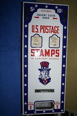 Vintage 1946 USPS stamp vending machine  US Post Office collectible