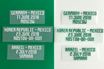 Matchdetail 2018 home für Trikot Mexico for shirt jersey Mexico El Tri