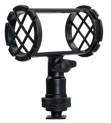 BOYA BY-C04 Camera Microphone.Boom. Shockmount w/Hot Shoe Mount.