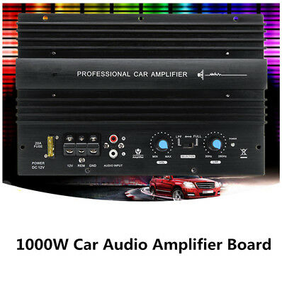 12V 1000W Bass Subwoofer 105dBA Car Stereo Audio High Power Amplifier Amp Board
