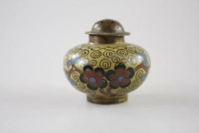 VINTAGE EARLY 20th Century CHINESE CLOISONNE CRUET