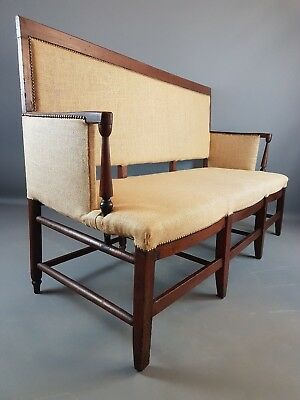 18thC French Settle
