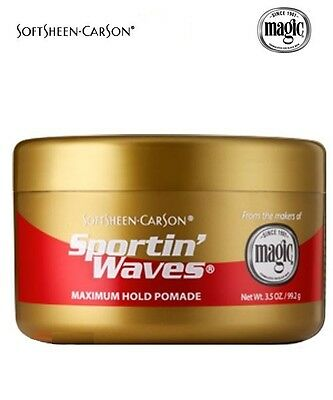 Sportin' Waves Cheveux Retenue Maximale Pommade or 99ml
