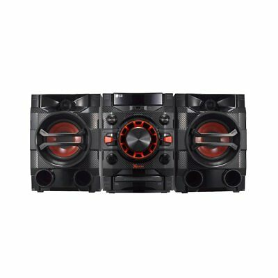 LG LOUDR CM4360 230 W Home Audio System with Bluetooth, CD, Radio Boom Box - Bla