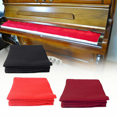 1Pc Piano Keyboard Anti-Dust Cover Key Cover Cloth For Piano Accessories 3 Color