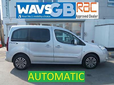 Peugeot Partner 1.6HDi Tepee S Auto Mobility Wheelchair Access Vehicle Disabled