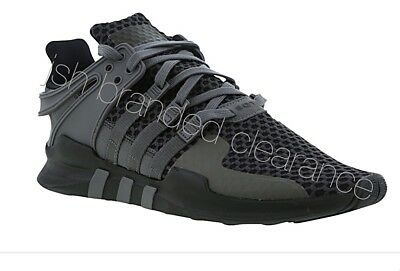 wholesale dealer 089b9 af0ef MENS ADIDAS EQT EQUIPMENT Support ADV Trainers Running Gym Black Grey  BB6226 NEW