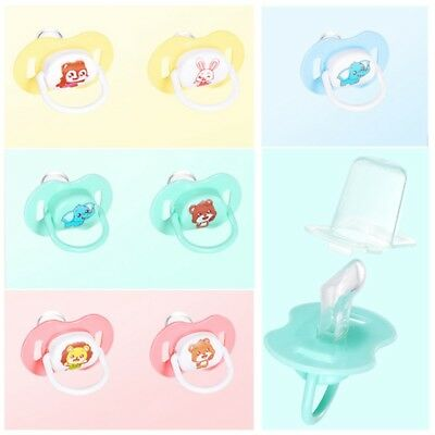 Newborn  Baby Orthodontic Dummy Pacifier Infant Silicone Teat Nipple Soother C