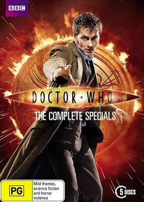 Doctor Who: Complete Specials Box Set (DVD, 2013, 5-Disc, Region 4) BBC NEW