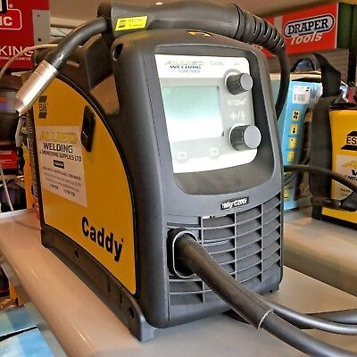 ESAB Caddy C200i MIG Welder.INCLUDING FREE CARRIAGE, COMES READY TO RUN,UK STOCK