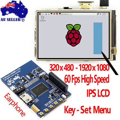 Raspberry Pi 3.5 inch HDMI LCD Touch Screen 3.5inch Display with Black Case