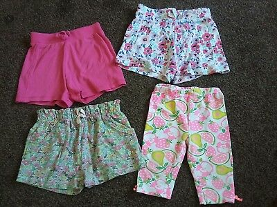 Baby girls summer shorts bundle age 12-18 months. Next matalan