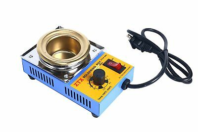 NEW 110V 160W 50MM Titanium Alloy Solder Pot Soldering Desoldering Bath