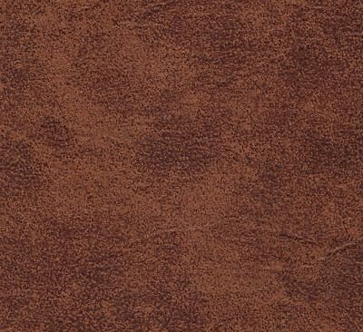 Distressed Tan / Brown Faux Leather / Vinyl £5.99 Per Metre.