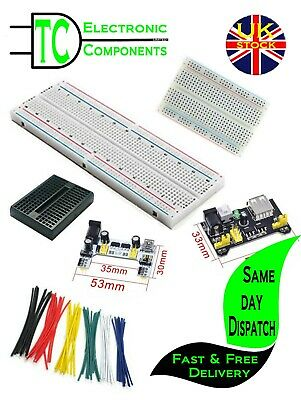 Solderless Prototype Breadboard (full size, half size, mini available) Free P&P
