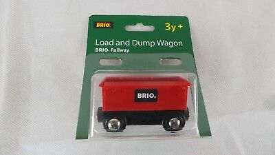 BRIO Railway load and dump wagon 33654