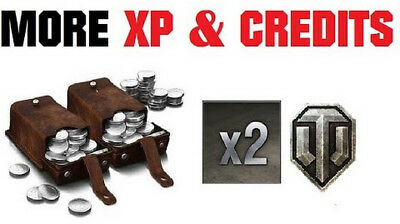 WOT World Of Tanks (15.000.000 Credit + 200.000 Minim XP for convert) 2-4 Days
