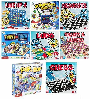 Classic Traditional Family Board Games Kids Childrens Xmas Gift Toys.