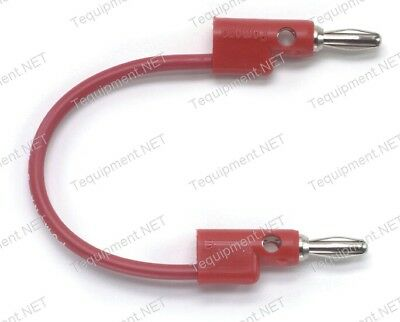 Pomona B Stacking banana plug patch cord